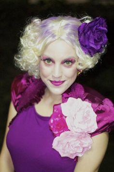 Effie Trinket costume from Hunger Games.