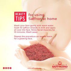 We heard you like beauty tips. So here's one best homemade beauty tip using #Saffron.