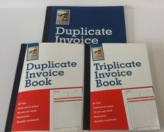 A5 & a4 #duplicate or triplicate carbonless #invoice books ncr. 50 sets. #leonard,  View more on the LINK: http://www.zeppy.io/product/gb/2/321614699786/