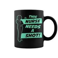 Nurse Needs A Shot HOT MUG : coffee mug, papa mug, cool mugs, funny coffee mugs, coffee mug funny, mug gift, #mugs #ideas #gift #mugcoffee #coolmug