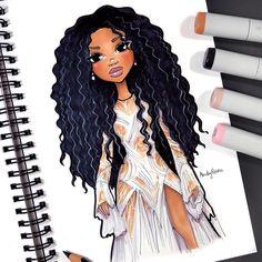 676 likes szanow🎨 Black Girl Art, Black Women Art, Art Girl, Black Girls, African American Art, African Art, Colorful Drawings, Cute Drawings, Natural Hair Art