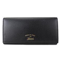 1af2c52a680 Gucci Women s Black Continental Flap Wallet  Gucci  FlapWallet Fashion  News