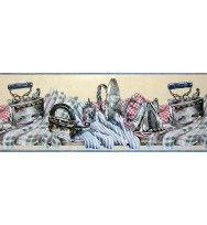 Luandry Wallpaper Border B864236