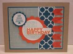 Pretty Provisions: Colorful May Birthday Card