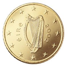 Ireland 50 Cent Coin, back when we had our own money, before the Euro ruined everything - typical of European encroachment on Ireland!