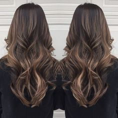 """Balayage highlights for Caroline!  #fallhair #balayage #toronto"""