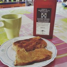 Desayunando #pancasero #pandeverdad #AOVE @cincolivas #marquesdeprado