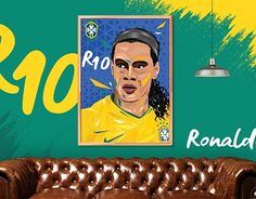 """Check out new work on my @Behance portfolio: """"RONALDINHO Low Poly Art Tribute"""" http://be.net/gallery/57004697/RONALDINHO-Low-Poly-Art-Tribute"""