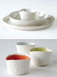 Doris Bank porcelain.
