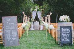 wedding ceremony idea; photo: Sposto Photography
