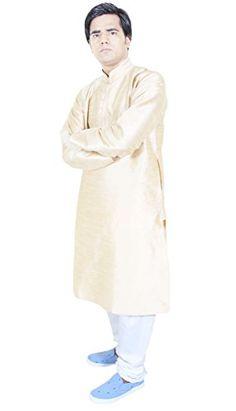 Mens Clothes Dress Kurta Pajama For Wedding Ethnic Indian Offwhite Size M RoyaltyLane http://www.amazon.co.uk/dp/B017MBDL14/ref=cm_sw_r_pi_dp_cGCRwb1YZSSX8