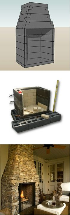 Attention DIYers! | FireRock Masonry Fireplace Kits -- Curated by: Ductworks Heating and Air Conditioning | 104 - 2955 Acland road Kelowna bc v1x 7x2 | 250-765-8854