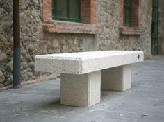Benito: Terziario & Spazi Pubblici - ArchiExpo - Panchina moderna in calcestruzzo