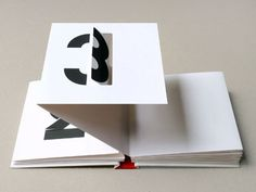 Marion Bataille famous pop-up number book. Typography Poster, Graphic Design Typography, Cuento Pop Up, Collages, Paper Pop, Paper Engineering, Paper Folding, Book Projects, Pop Up Cards