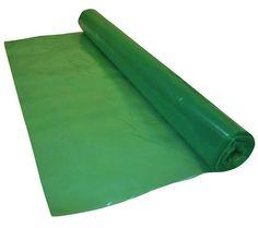 Green Vapour Barrier Polythene Sheeting 125 Micron / 500 Gauge