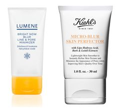 The new blur creams diffuse flaws with light reflectors and fill uneven texture for a soft-focus effect. Lab Notes These winners immediately minimized pores (Lumene by 18%) and improved skin's texture (Kiehl's by 25%). Bargain: Lumene Bright Now Blur Line & Pore Minimizer, $20, drugstore.com. Splurge: Kiehl's Micro-Blur Skin Perfector, $35, kiehls.com.  - GoodHousekeeping.com