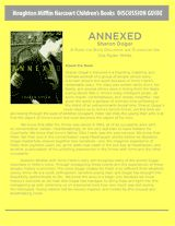 This teacher's guide to Annexed, a story about the boy who loved Anne Frank, includes discussion questions, reading instruction, and project ideas for studying the Holocaust. Use the novel as a companion to Anne Frank's Diary of a Young Girl to help adolescent boys connect to her story.