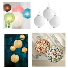 How to Light Your Dorm Room with Christmas Lights and Paper Lanterns - College Fashion