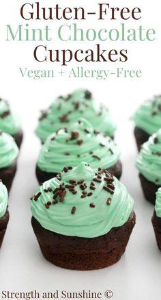 Vegan Cupcake Recipes, Gluten Free Desserts, Dairy Free Recipes, Vegan Desserts, Gluten Free Cupcake Recipe, Green Desserts, Health Desserts, Baking Recipes, Dairy Free Buttercream