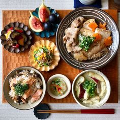 Baby Food Recipes, Healthy Recipes, Japanese Dinner, Asian Recipes, Ethnic Recipes, Breakfast Lunch Dinner, Food Goals, Aesthetic Food, Food Menu
