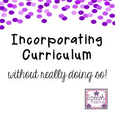 <h2>Carryover...curriculum...common core...those are 3 C's that can scare a lot of SLPs (and we have 3 C's next to our name!) Keep reading to learn ho ...