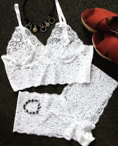 underwear girly white lingerie lingerie set lace