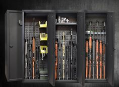 The Model 52 Gun Cabinet accommodates all SecureIt accessories. So ...