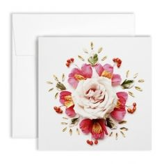 Flora Forager for NYBG Mexican Rose Card