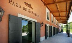 Pazo Señorans Spanish, Wineries, Places, Wine, Wine Cellars, Paths, Entryway, Viajes, Spanish Language