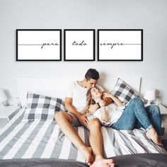 Discover recipes, home ideas, style inspiration and other ideas to try. Bedroom Wall Decor Above Bed, Wal Art, Love Wall Art, Home Art, Future House, Home Office, Love Story, Diy Home Decor, Inspiration