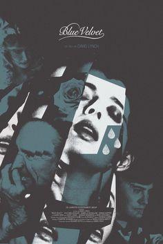 """Adam Juresko """"Blue Velvet"""" Print"""