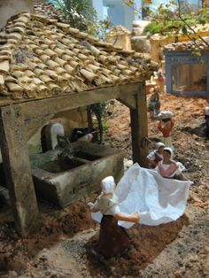 1 million+ Stunning Free Images to Use Anywhere Diy Nativity, Christmas Nativity Scene, Christmas Time, Free To Use Images, Frame Crafts, Paper Houses, Little Houses, Christmas Pictures, Beautiful Christmas