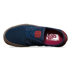 Vans Men's Chima Ferguson Pro Suede Shoes - Navy/Gum