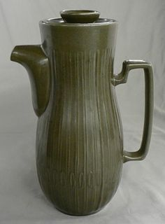 Red Wing Pottery Beautiful Coffee Pot | eBay