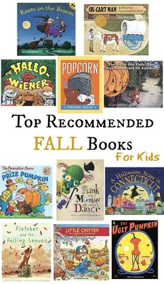 These top recommended fall books for kids are perfect for the season as it gets cooler and leaves begin to fall! Come see my favorite collection of children's books for fall! - Home Decor - Home Style Fall Home Decor, Autumn Home, Fall Halloween, Halloween Pumpkins, Fallen Book, Read Aloud, Fall Crafts, Diy Crafts, Childrens Books