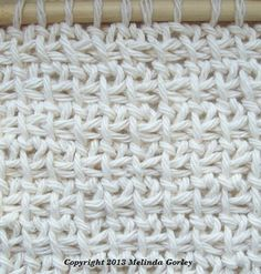 Tunisian Crochet-Extended Stitch