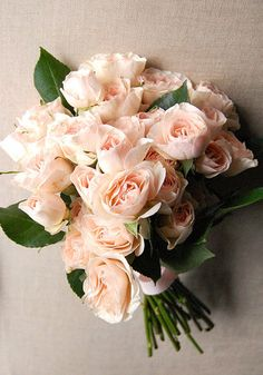 #blush wedding bouquet