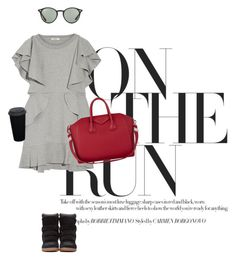 Untitled #57 by teaangelika on Polyvore featuring polyvore, moda, style, Goen.J, Isabel Marant, Givenchy, Ray-Ban, fashion and clothing