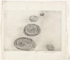 Louise Bourgeois, Spirales, 1974 – etching