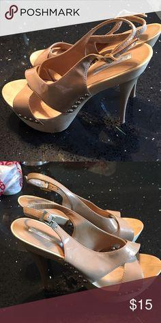 Peep toe pumps Peep toe sandal heels H by Halston Shoes Heels