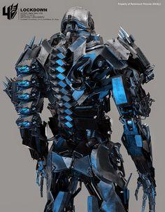 東尼史塔克 鋼鐵人 Tony Stark: 《變形金剛4:絕跡重生》美術設定─地獄獵人