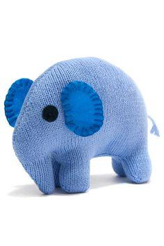 Knit Cotton Elephant