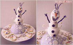 Happy Snowman dessert