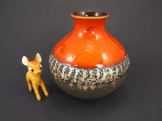 Vintage Keramik Vase von Carstens Tönnieshof / Modell 5001 15 | West German Pottery | 70er von ShabbRockRepublic auf Etsy