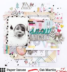 My first layout of the new year is up on the @paperissues blog today as part of their Take 5 Tuesday!  I used lots of @cratepaper #snowandcocoa and #cute girl to make my layout!  Make sure you stop over to the @paperissues blog to see all the other awesome pages!  Also I will have a new process video up tonight for this layout! #paperissues #take5tuesday #cratepaperlittleyou #cratepapercutegirl #cratepapersnowandcocoa #scrapbooking #scrapbook #papercrafting
