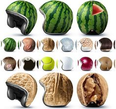 Original helmets ! Why didn´t I come up with it ?