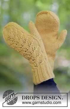 Теплые варежки спицами для женщин, связанные из шерстяной пряжи средней толщины. Вязание варежек выполняется классическим способом, тыльная стороны