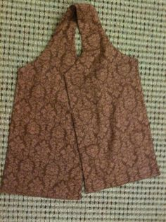 Image result for Dining Scarf Adult Bibs Pattern