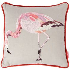 Flamingo cushion from Debenhams (blogged by Lily in the Labyrinth)