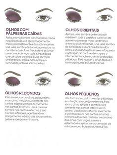 Dicas para valorizar diversos tipos de olhos